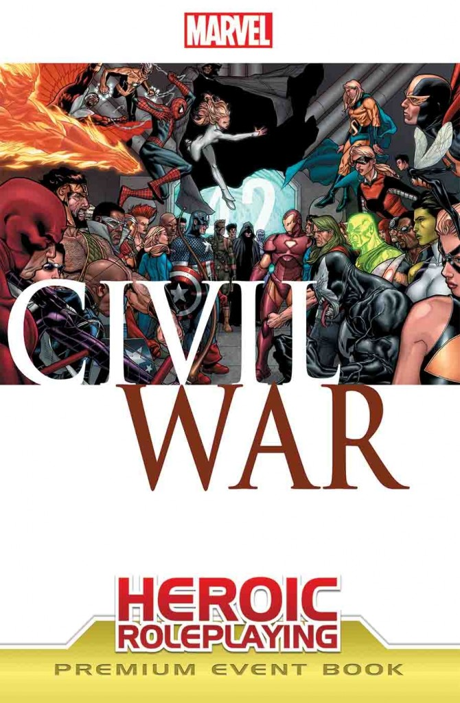 Marvel Heroic Roleplaying Civil War Premium Cover