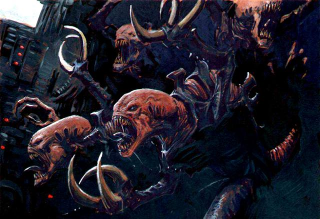 Genestealers Attack from the Warhammer 40k Wiki
